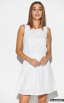 Платье Анаконда, Белый
