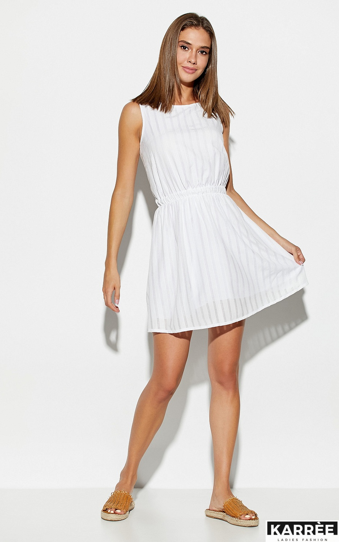 Платье Анаконда, Белый - фото 3