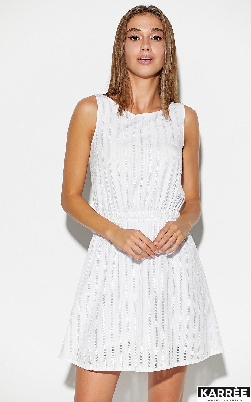Платье Анаконда, Белый - фото 2