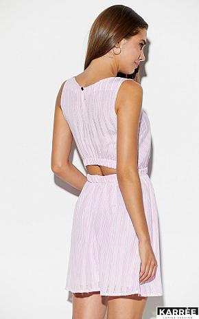 Платье Анаконда, Розовый - фото 2