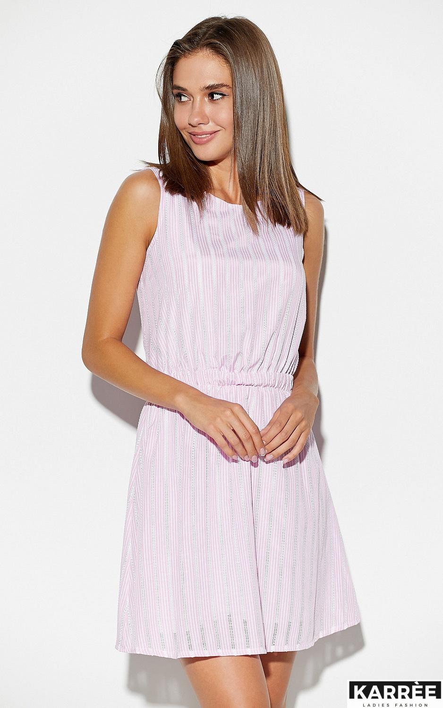 Платье Анаконда, Розовый - фото 3