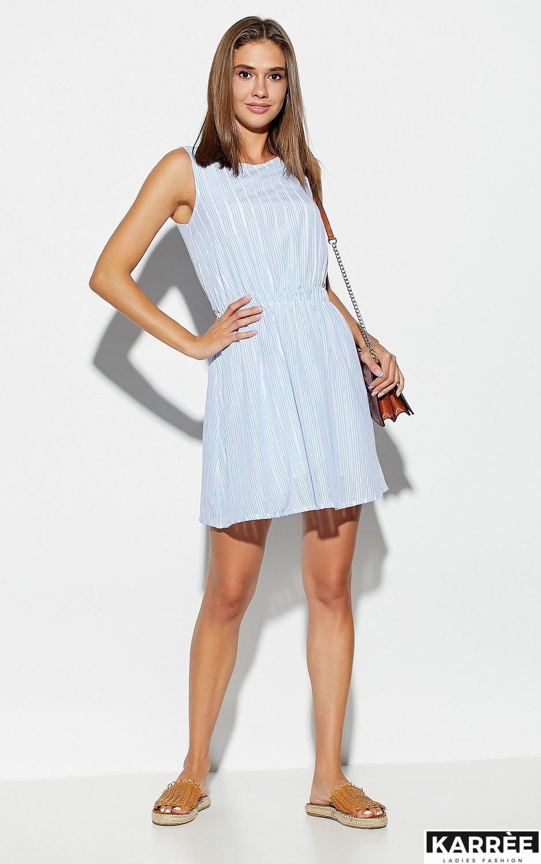 Платье Анаконда, Голубой - фото 2