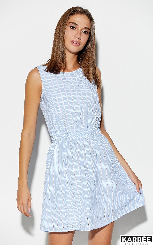 Платье Анаконда, Голубой - фото 3