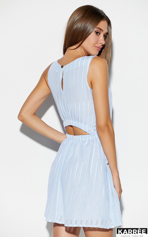 Платье Анаконда, Голубой - фото 4