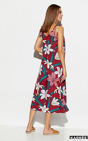 Платье Лилиан, Марсала - фото 3