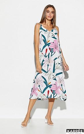Платье Лилиан, Белый - фото 2