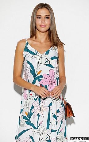 Платье Лилиан, Белый - фото 3