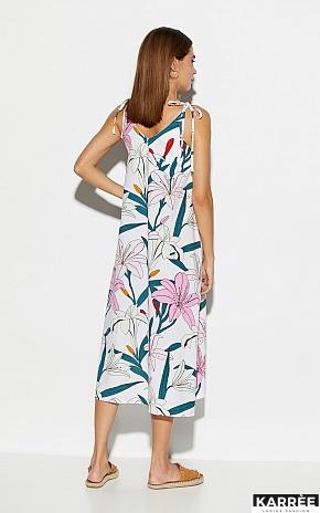 Платье Лилиан, Белый - фото 4