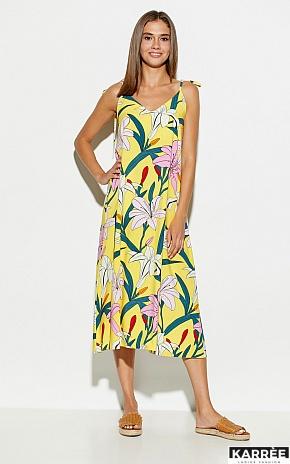 Платье Лилиан, Желтый - фото 2