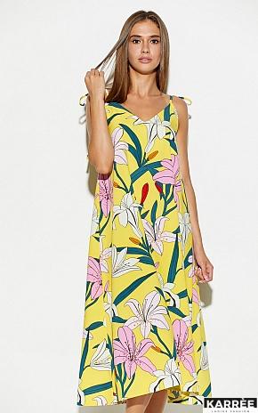 Платье Лилиан, Желтый - фото 3