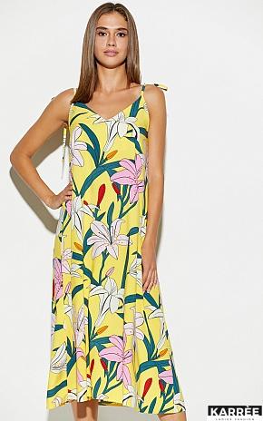 Платье Лилиан, Желтый - фото 4
