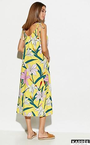 Платье Лилиан, Желтый - фото 5