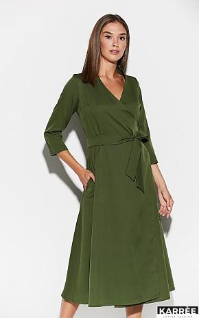 Платье Тайра, Хаки - фото 1