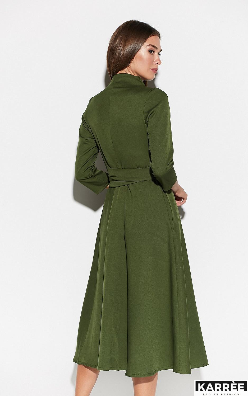 Платье Тайра, Хаки - фото 2