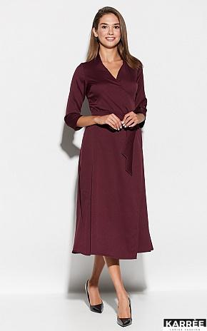 Платье Тайра, Бургунди - фото 1