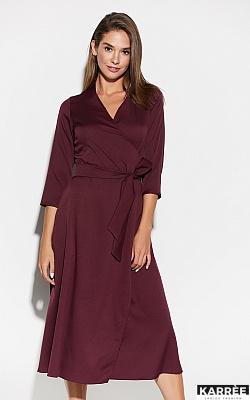 Платье Тайра, Бургунди