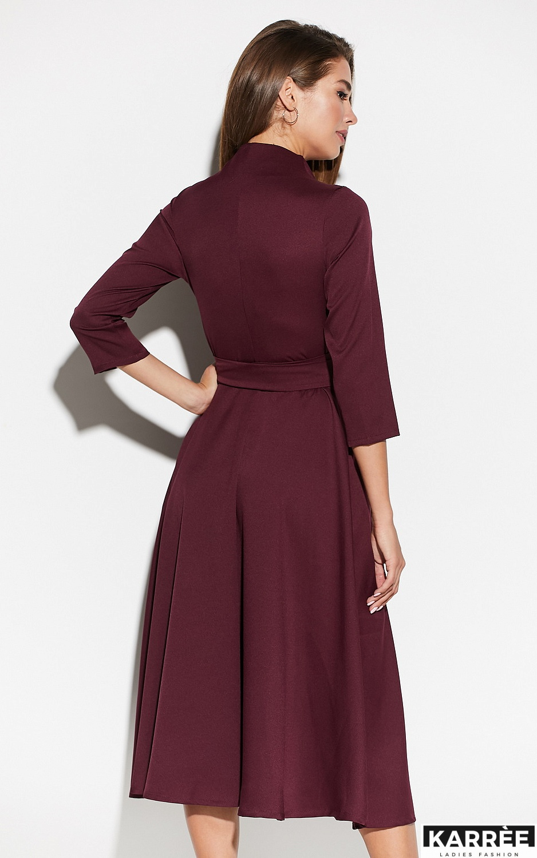 Платье Тайра, Бургунди - фото 3