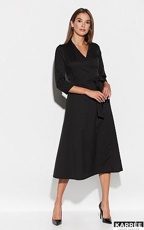 Платье Тайра, Черный - фото 1