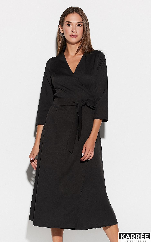 Платье Тайра, Черный - фото 2