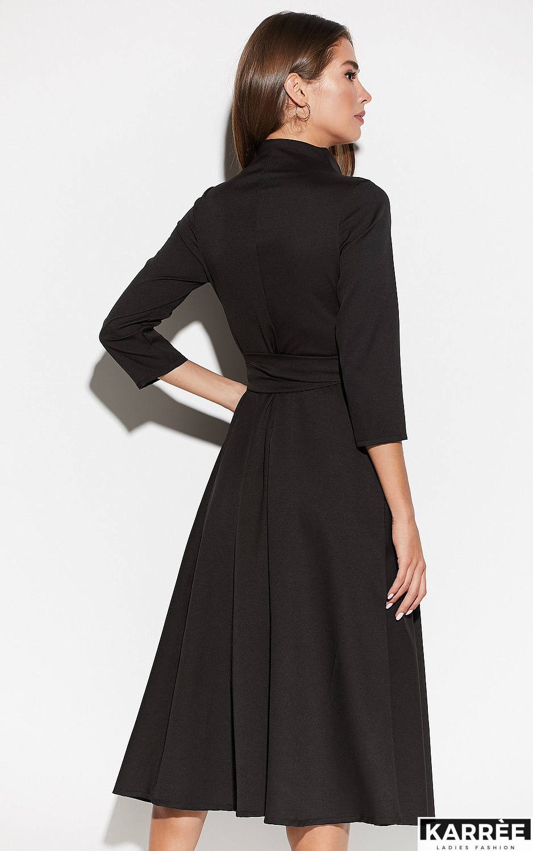 Платье Тайра, Черный - фото 3