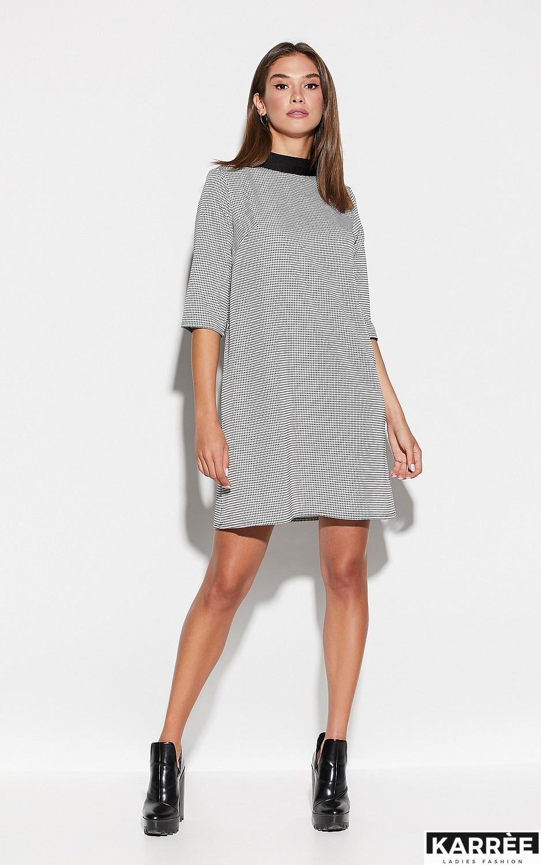 Платье Осло, Черный - фото 2