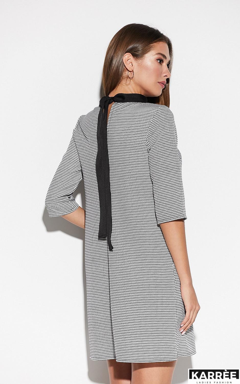 Платье Осло, Черный - фото 4