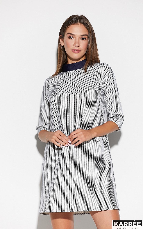 Платье Осло, Темно-синий - фото 2