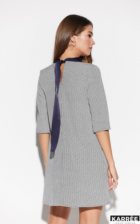 Платье Осло, Темно-синий - фото 3