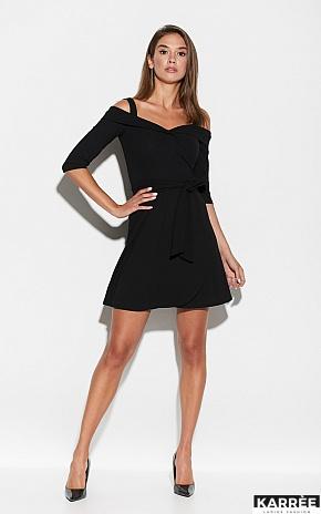 Платье Алия, Черный - фото 1