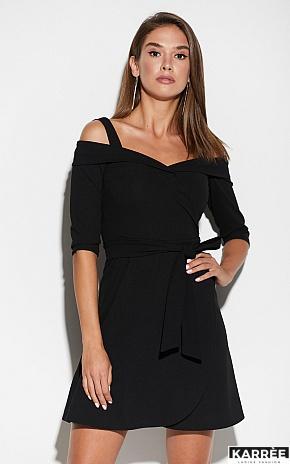Платье Алия, Черный - фото 2