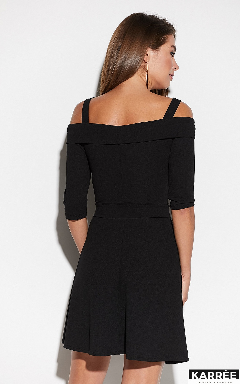 Платье Алия, Черный - фото 3