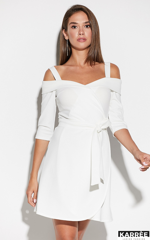 Платье Алия, Белый