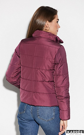 Куртка Джей, Бургунди - фото 3