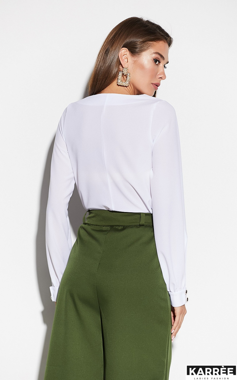 Блуза Зетта, Белый - фото 3