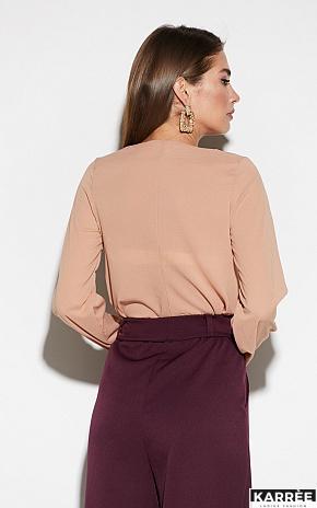 Блуза Зетта, Бежевый - фото 4