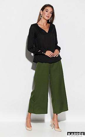 Блуза Зетта, Черный - фото 1