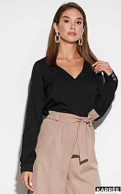 Блуза Зетта, Черный