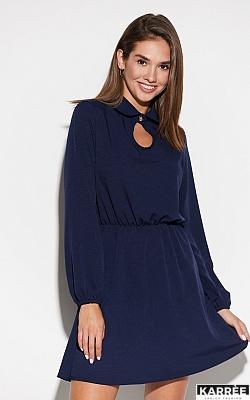 Платье Мирта, Темно-синий