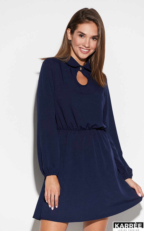 Платье Мирта, Темно-синий - фото 2