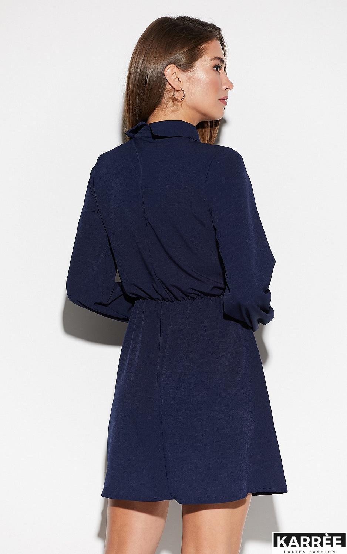 Платье Мирта, Темно-синий - фото 3