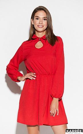 Платье Мирта, Красный - фото 3