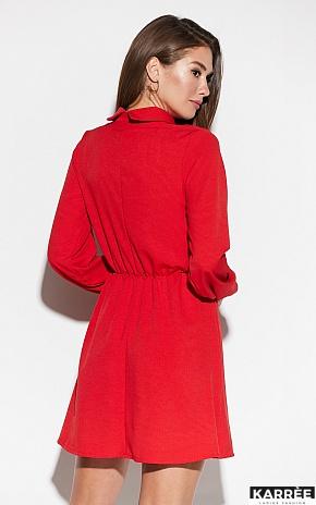 Платье Мирта, Красный - фото 4
