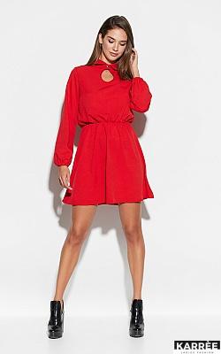 Платье Мирта, Красный