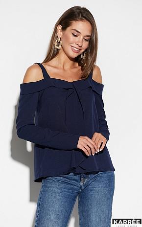 Блуза Кори, Темно-синий - фото 1