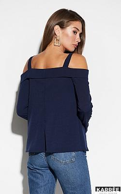 Блуза Кори, Темно-синий