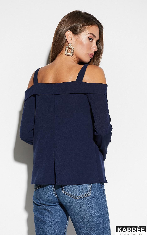 Блуза Кори, Темно-синий - фото 2