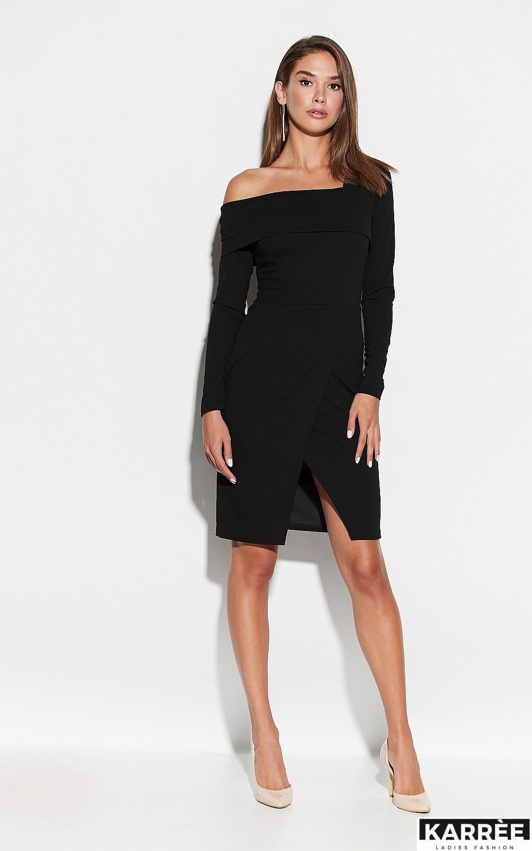 Платье Космо, Черный - фото 2