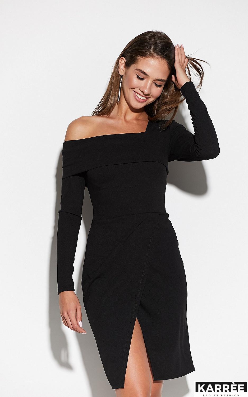 Платье Космо, Черный - фото 3