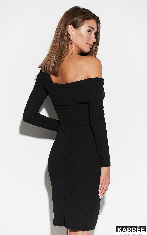 Платье Космо, Черный - фото 4