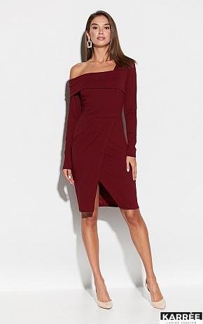 Платье Космо, Марсала - фото 1
